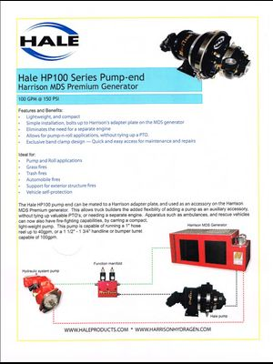 Hale HP100 Series Pump
