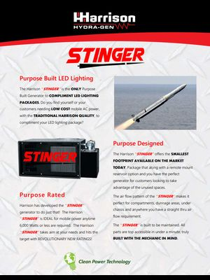 Stinger Brochure